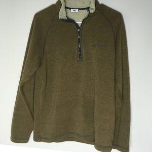Columbia Men's 1/4 zip sweatshirt-c